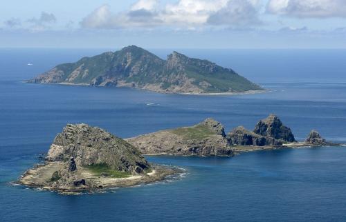 Quần đảo Senaku/Điếu Ngư, tâm điểm tranh chấp giữa Trung Quốc và Nhật Bản, ở biển Hoa Đông. Ảnh: