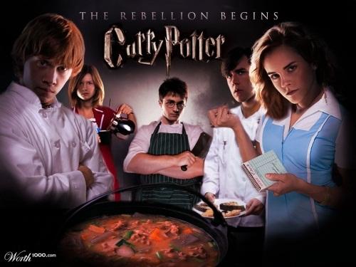 Khi các phù thủy trong Harry Potter chuyển sang nghề đầu bếp.
