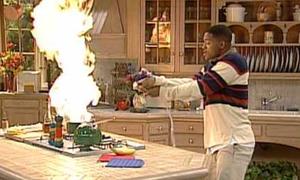 Những khoảnh khắc 'bá đạo' khi đàn ông lần đầu vào bếp