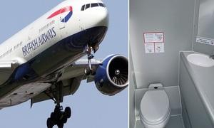 Chất thải ở bồn cầu máy bay được xử lý như thế nào