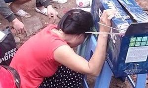 'Vợ người cưa vật liệu gây nổ khóc bên thi thể chồng' nóng trên mạng XH