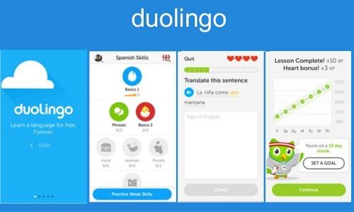 Duolingo là ứng dụng học ngoại ngữ nổi tiếng với hơn 100 triệu lượt người dùng trên thế giới.