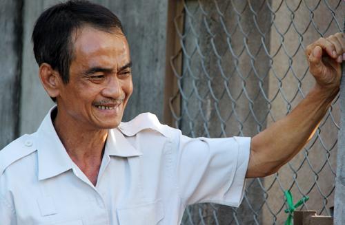 Ông Huỳnh Văn Nén đang nguy kịch tại bệnh viện Chợ Rẫy. Ảnh: Phước Tuấn