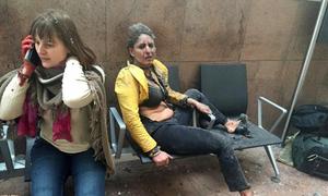 Bức ảnh lột tả nỗi kinh hoàng của vụ đánh bom Brussels