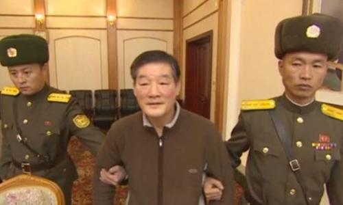 Ông Kim Dong-chul (giữa). Ảnh: CNN.