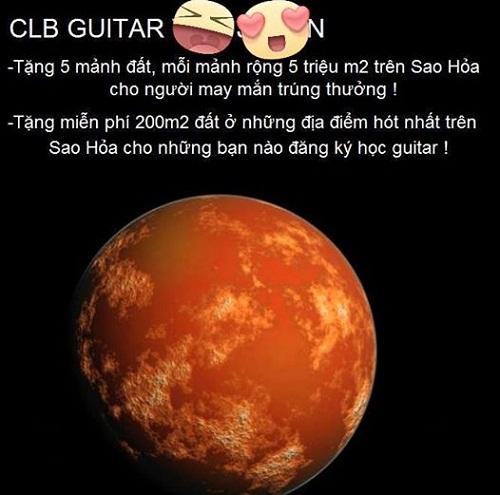 Đất trên Sao Hỏa cũng là mặt hàng khuyến mãi ưa chuộng trong dịp Cá tháng Tư này.