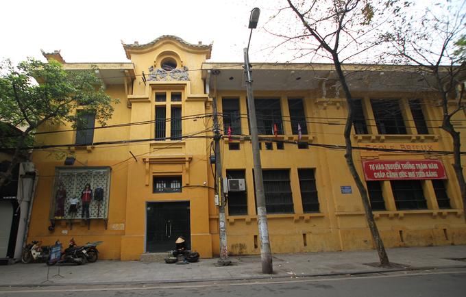 Ngôi trường nữ sinh tiểu học đầu tiên ở Hà Nội