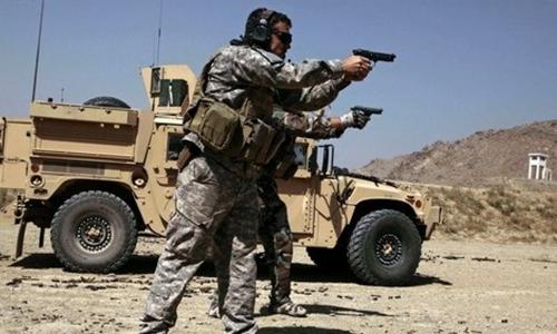Đặc nhiệm Mỹ ở Afghanistan năm 2009. Ảnh: AP.