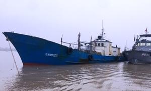 Chuyến tuần tra bắt giữ tàu Trung Quốc xâm phạm chủ quyền Việt Nam