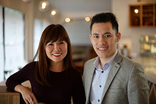 Chị emVincent và Amelia Nguyen