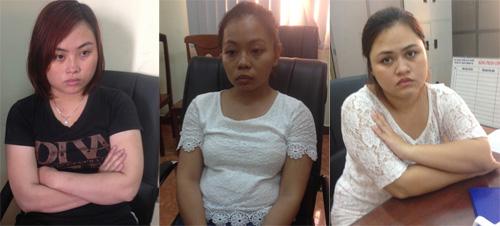 Các đồng phạm người Việt của Micheal IkeChukwu Leonard. Ảnh: C.A