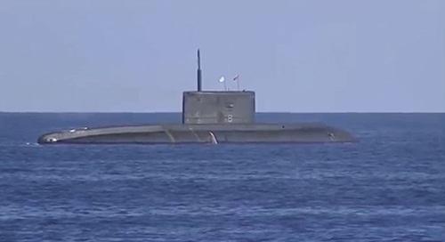 Tàu ngầm Kilo đề án 636 của Nga. Ảnh: Russian Ministry of Defence