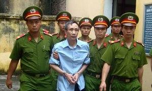 Nghi can 4 lần bị tuyên án tử không được chấp nhận lời kêu oan