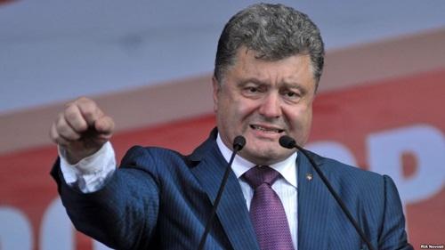 Tổng thống Ukraine Petro Poroshenko. Ảnh RIANovosti