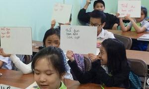 Trẻ em gốc Việt ở Mỹ nỗ lực học tiếng mẹ đẻ