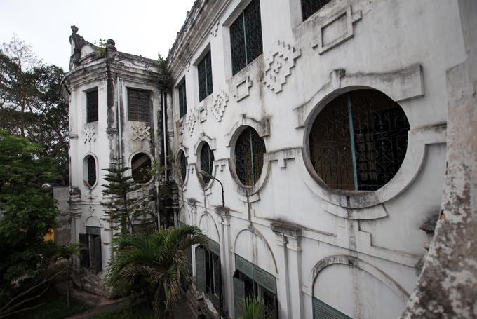 Ngôi trường có kiến trúc lạ nhất thành Nam