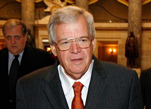Cựu chủ tịch Hạ Viện Mỹ Dennis Hastert. Ảnh: Newsmax