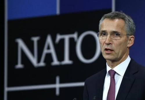 Tổng thư ký NATO Jens Stoltenberg. Ảnh: Reuters.