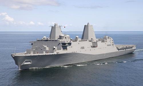 Chiến hạm Mỹ phối hợp với Philippines tuần tra chung ở Biển Đông. Ảnh minh họa: Wikipedia