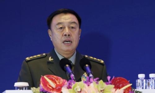 Phó chủ tịch Quân ủy Trung ương Trung Quốc Phạm Trường Long. Ảnh: Reuters.
