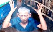 5 năm truy tìm kẻ truy nã ẩn nấp dưới căn hầm