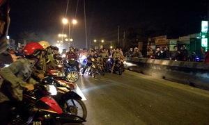 TP HCM kêu gọi người dân ghi hình đua xe trái phép để xử lý