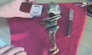 Xác ướp bí ẩn nghi thuộc về người ngoài hành tinh ở Nga