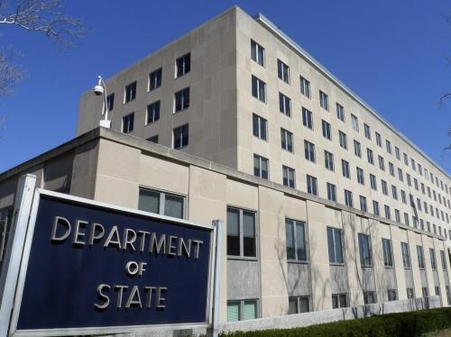 Trụ sở Bộ Ngoại giao Mỹ tại Washington D.C. Ảnh: Reuters