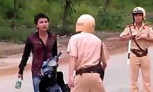 1.300 cảnh sát giao thông Hà Nội được luyện kỹ năng giao tiếp