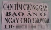 Những thông báo tuyển dụng chất nhất Việt Nam