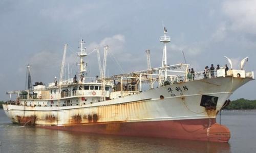 Tàu Hua Li 8. Ảnh: Tempo.