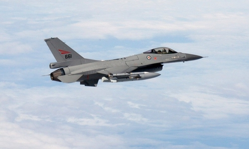 Một chiến đấu cơ F-16 của Na Uy. Ảnh: Zuma Press.