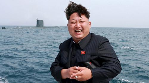 Nhà lãnh đạo Kim Jong-untrực tiếp giám sátvụ thử nghiệm tên lửa đạn đạo ở dưới nước