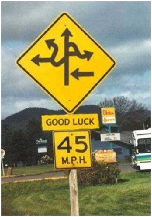 Chúc bạn tìm đường may mắn.