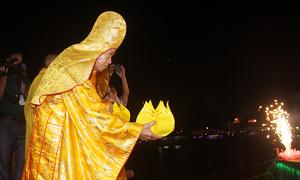 Lễ hội cầu an tại Festival Huế