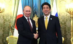 Thủ tướng Abe định mời Tổng thống Putin về thăm quê
