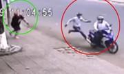 Video chủ nhà rượt trộm xe máy chạy bạt mạng xem nhiều tuần qua