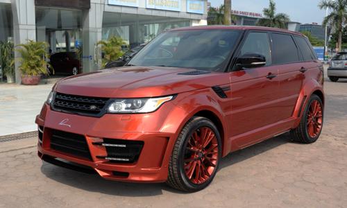 Bản độ Range Rover Sport Lumma Design tại Hà Nội. >>Ảnh chi tiết.