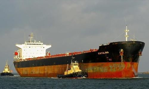 Tàu chở hàng Catalina. Ảnh: