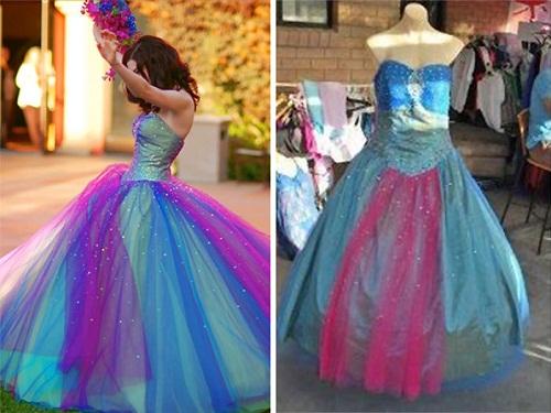 Váy công chúa và váy của lọ lem.