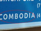 Biển quảng cáo viết sai tên nước giữa Hà Nội