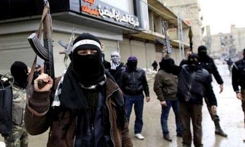 Phiến quân Mặt trận Nusra ở Syria. Ảnh: Press TV.