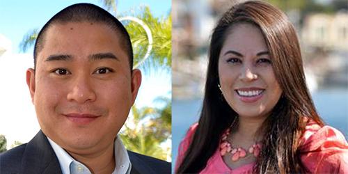 Vợ chồng ông Tim Nguyen và bà Veronica Nguyen. Ảnh: FB BeSmartee