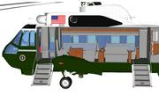 Bên trong trực thăng chuyên biệt của Tổng thống Mỹ