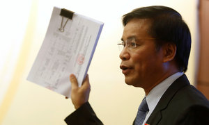 Tổng thư ký Quốc hội: 'Bầu hộ là vi phạm pháp luật'