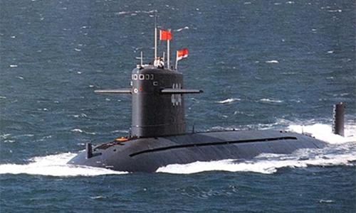 Một tàu ngầm hạt nhân của Trung Quốc. Ảnh: China Daily.