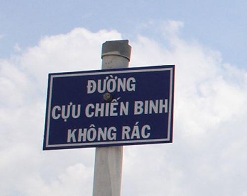 Con đường này chắc hẳn rất sạch sẽ.