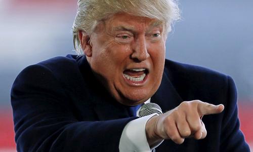 Truyền thông Triều Tiên ca ngợi ứng viên đảng Cộng hòa Donald Trump. Ảnh minh họa: CNN