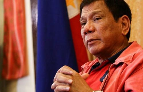 [Caption]tổng thống Philippines, Rodrigo Duterte