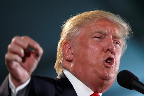 Ứng viên tổng thống Mỹ đảng Cộng hòa Donald Trump. Ảnh: Reuters.